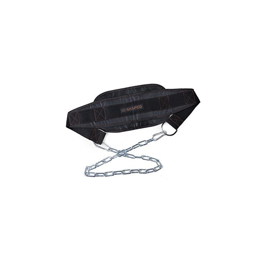 Pellor Dipping Belt Body Building Weight Dip Lifting Chain