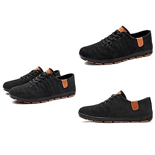 LIUXUEPING Sommersaison Atmungsaktiv Herrenschuhe Segeltuchschuhe Jugend Studenten Studenten Studenten Schuhe Stoffschuhe Freizeitschuhe d3bbcd