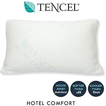 Amazon Com Hotel Comfort Shredded Memory Foam Tencel
