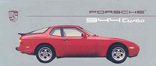 1988 Porsche 944 Turbo Mailer Brochure