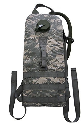 US Military Molle 100 oz 3 Liter ACU Hydration Water Carrier Backpack with Bladder (ACU Digital) (100 Oz Hydration Carrier)