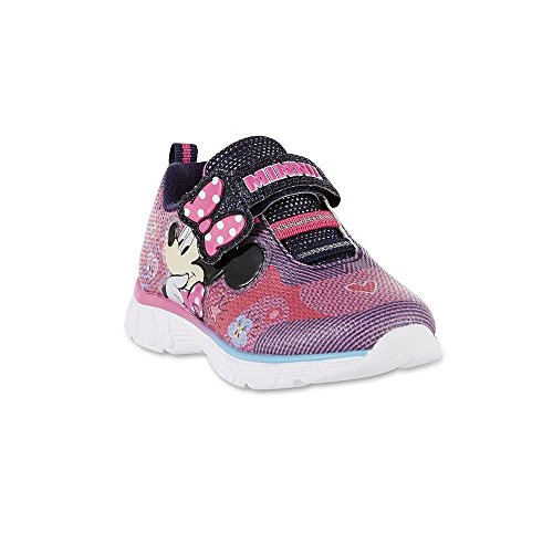 Aci International Minnie Mouse Disney Light-Up Shoes Sneakers Toddler's Sizes (11 M US) -