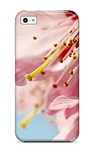 Fashion Tpu Case For Iphone 5c- K Wallpapers Flower Defender Case Cover