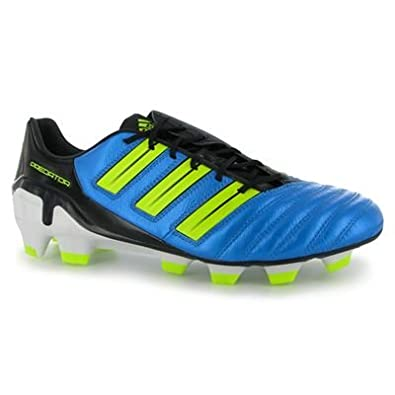best loved 7f2db 6c65b adidas adiPower Predator TRX FG Mens Football Boot Blue Electric Black 9 UK  UK  Amazon.co.uk  Shoes   Bags