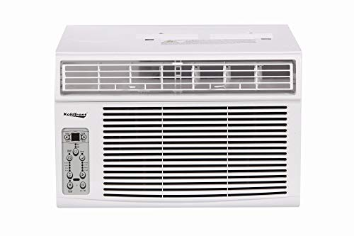 Koldfront WAC8003WCO 8000 BTU 115V Window Air Conditioner with Dehumidifier and