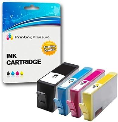 Printing Pleasure 4 Compatibles HP 364XL Cartuchos de Tinta ...