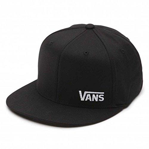 Vans Men's Splitz Flexfit Hat, Black , SM/MD