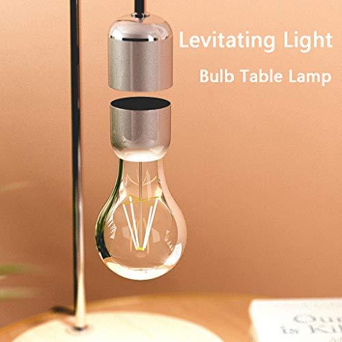 Longay Levitating Light Bulb Table Lamp Anti-Gravity Lamp Magnetic Lamp
