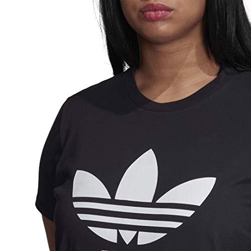 adidas Originals Women's Plus Size Trefoil Tee 3