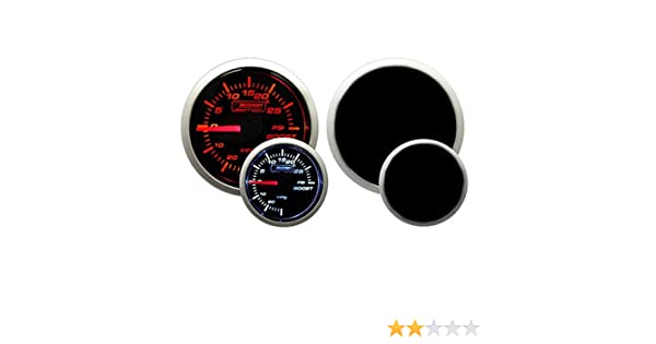 Amazon.com: Prosport Performance Series Gauge (Boost Gauge (Electrical) w/ sender, Amber White 52mm): Automotive