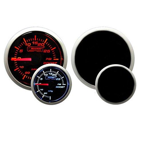 Prosport Performance Series Gauge (Boost Gauge (Electrical) w/ sender, Amber White 52mm) (Electrical Boost Gauge)