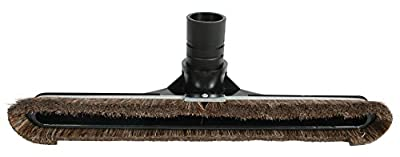 "Cen-Tec Systems 68866 14"" Natural Fill Floor Brush for Commercial Back Packs and Canister Vacuums"