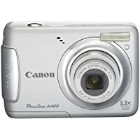 Canon PowerShot A480 10 MP Digital Camera with 3.3x Optical Zoom and 2.5-inch LCD (Silver) Noticeable Review Image