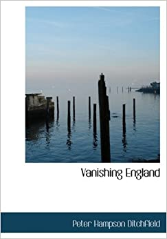 Vanishing England (Large Print Edition)