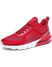 AZOOKEN Herren Damen Laufschuhe Sneaker Straßenlaufschuhe Sportschuhe Turnschuhe Outdoor Leichtgewichts Freizeit Atmungsaktive Fitness Schuhe