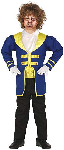 Boys Beastly Prince Cartoon Movie Classic Fairy Tale World Book Day Week Fancy Dress Costume Outfit (5-6 years)]()