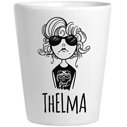 Thelma Louise Shots 1: Ceramic Shot Glass -