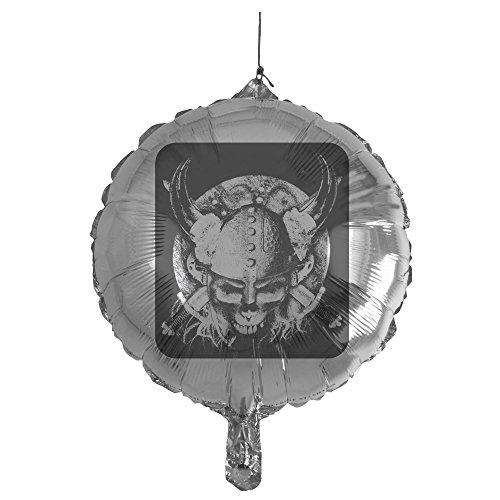 - Royal Lion Mylar Balloon Helmet Sword and Skull