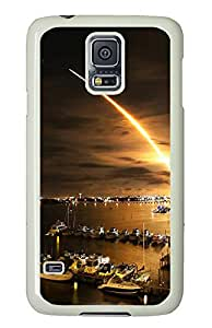 Samsung Galaxy S5 Missile launch PC Custom Samsung Galaxy S5 Case Cover White
