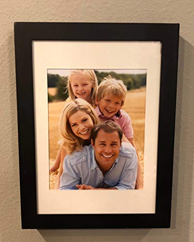 Changeable Matte Black Frame - Secure Point Tactical Fortress 1216 - Gun Concealment Picture Frame with a Concealed Electronic Lock