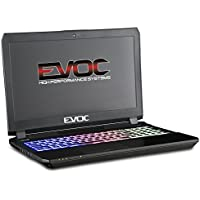 EVOC High Performance Systems (Clevo) P650HS-AUS5 G-SYNC w/ IC Diamond Thermal Compound on CPU+GPU – Optimal System Temperatures 15.6 Slim (FHD 120Hz/GTX 1070/7700HQ/256G SSD+1T HDD/32G RAM)