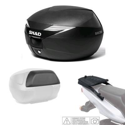 carbono KIT-SHAD-409//214 : Kit fijacion y maleta baul trasero SHAD respaldo pasajero regalo SH39 KYMCO SUPERDINK//DOWN 125 /Â/´09