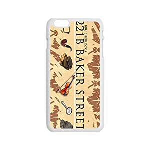 DAZHAHUI 221B Baker Street Cell Phone Case for Iphone 6