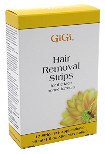 Gigi Strips Face Hair Removal 12 Strips / 24 Applications