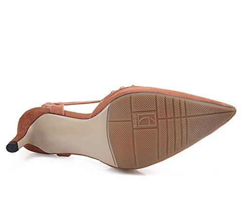 Nine SevenSandal - Zapatos con correa de tobillo mujer Rosa