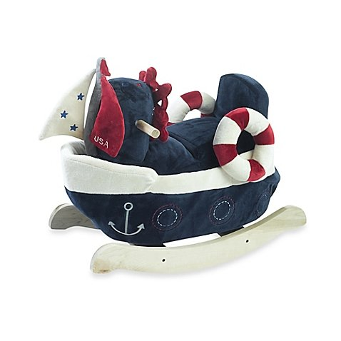 Rockabye America the Sailboat Musical Rocker by Rockabye