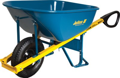 Ames M6TCFF Jackson 6 Cu. ft. Total Control Wheelbarrow