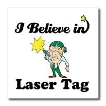 Dooni Designs I Believe In Designs - I Believe In Laser Tag - Iron on Heat Transfers