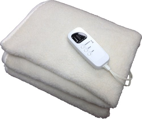 Therapist's Choice® Deluxe Fleece Massage Table Warmer, 12 Foot Power Cord. For Use with Massage Tables Only, Do Not Use as a Bed Blanket (Massage Table Warming Pad)