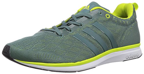 adidas Performance Adizero Feather 4 - Zapatillas de running para hombre Green/white