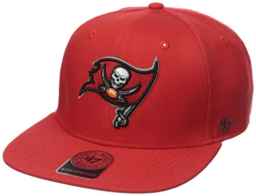 - NFL Tampa Bay Buccaneers '47 Super Shot Captain Adjustable Hat, One Size Fits Most, Torch Red