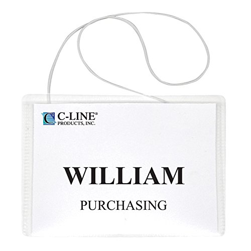 Neck Style Name Badges - 6