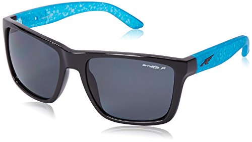Arnette Witch Doctor Sport, Gloss Black w/Grey Polarized, 55 mm