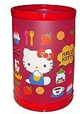hello kitty storage bin - Hello Kitty Waste Basket Bin (Flat Pack)
