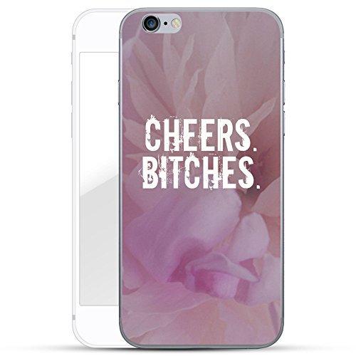 finoo | iPhone 6 Plus und 6S Plus Hard Case Handy-Hülle mit Motiv | dünne stoßfeste Schutz-Cover Tasche in Premium Qualität | Premium Case für Dein Smartphone| Cheers Bitches