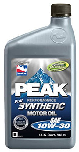 PEAK Full Synthetic 6 Qt. Motor Oil (10W-30) -  United Automotive, P3MS176