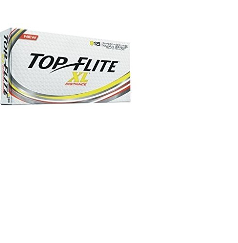 2016 Top Flite XL Distance Yellow (18 Pack)