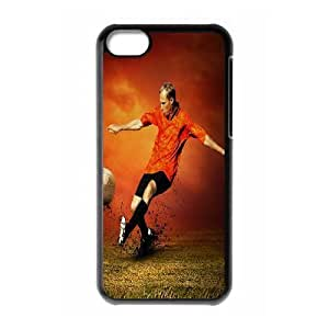 iphone5c phone cases Black Football fashion cell phone cases YEDS9165164