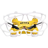 Arshiner CX-10 Mini Drone 6-Axis Gyro 4CH 2.4GHz CF Mode 360° Eversion RC Quadcopter(Yellow)