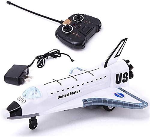 Zhangl 2.4G の新しい合金の航空機おもちゃSTS-102電動RC飛行機グライダーリモートコントロールスペースシャトルの
