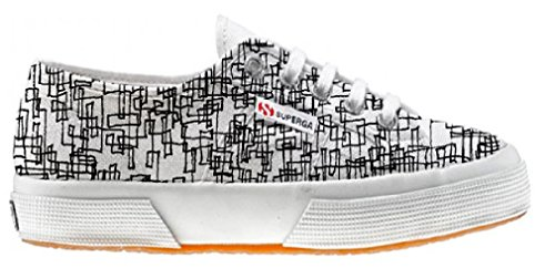 Superga Customized Chaussures Coutume Abstract (produit artisanal) - TG40