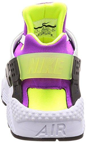 Corsa Neon Nike Huarache Uomo Uk Run nero Scarpa Us '91 7 Da Qs 8 Air Bianco Yellow Cfr8Oxwqnf