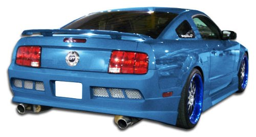 Duraflex ED-NNV-439 GT Concept Rear Bumper Cover - 1 Piece Body Kit - Compatible For Ford Mustang 2005-2009