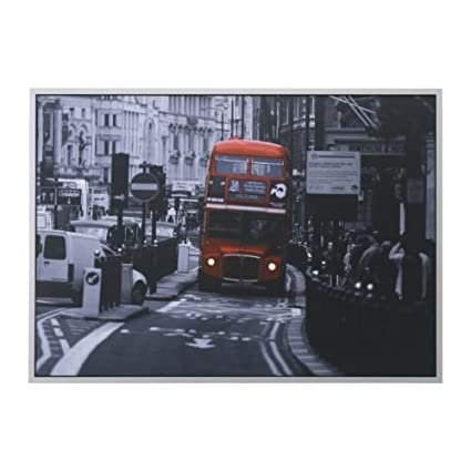 Framed And Memo Board Available Passenger Transport London Bus Print