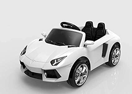 Baybee Lamborghini Battery Operated Car With Remote Control (White)