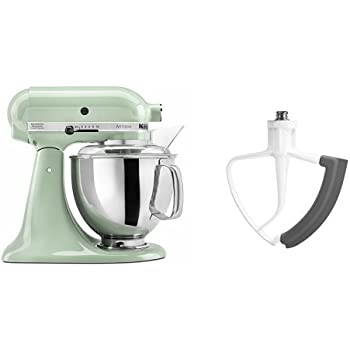 KitchenAid KSM150PSPT Artisan Series 5 Qt. Stand Mixer With Pouring Shield    Pistachio And